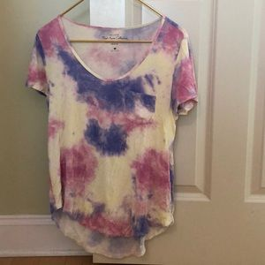Tie-dye Hollister t-shirt
